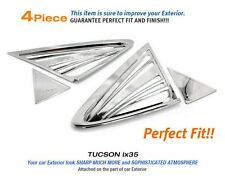 Chrome C Pillar Window Sill Molding Trim 4Pcs For HYUNDAI 2010~2012 TUCSON ix35