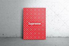 Supreme x LV Supreme Hypebeast Iconic Poster A4
