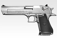 """No16 Desert Eagle 50AE"" Chrome stainless Tokyo Marui Gas blow back gun Japan"