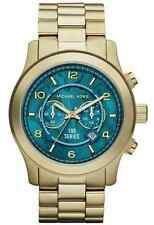 NEW MICHAEL KORS MK8315 HUNGER STOP 100 TURQUOISE WATCH - 2 YEAR WARRANTY