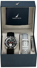 Men's Black Nautica Multifunction Watch N09910G