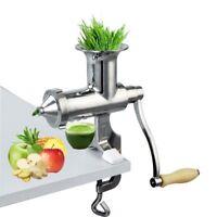 New Saftmeer Handkurbel Gesundes Gemüse Maller Weizengras Juicer Squeeze Gi H2Y2