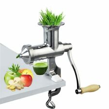 Stainless Steel Wheatgrass/ Wheat grass Manual/ Hand operated