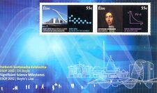 Ireland-Science Milestones-mnh sheet new issue 2012