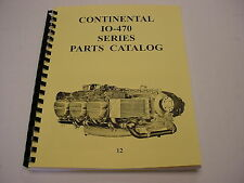 CONTINENTAL ENGINES  IO-470 PARTS MANUAL -12