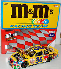 99 Ernie Irvan #36 M&M's Pontiac Action RCCA 1:24 Limited Edition Bank /2500