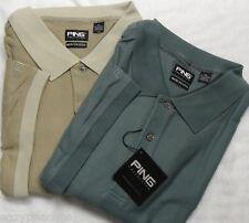 PING Golf Mens Size 4XL Mercerized Cotton Polo Sport Shirt SAGE GREEN XXXXL $75