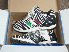 BRAND NEW ADIDAS ZX FLUX ZEBRA ITALIA LIMITED CITY RUNNERS TRAINERS UK SIZE 10