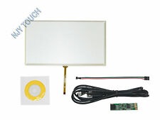 "9inch 4 Wire Resistive Touch Screen Panel Digitizer USB for 9"" TFT LCD 211x126mm"