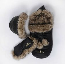 Eco Leather Personalised footmuff, Handmuff For All Prams and Strollers New