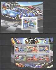 NS389 2008 GUINEA TRANSPORT CARS AUTORACING NASCAR DAYTONA 500 1KB+1BL MNH