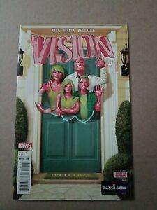 THE VISION #1 Marvel 1st Print 1st Appearance VIV & VIN WandaVison DISNEY+ King