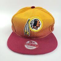New Era 9Fifty Vintage Collection NFL Redskins Team Snapback Hat Adjustable