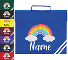 Personalised Book Bag Childrens Rainbow Any Name Back To School Kids PE Kit