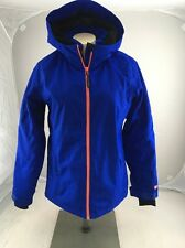 PWDR ROOM Youth XL Ski Snowboard Jacket Bright Blue Orange Rare Lined Warm EUC