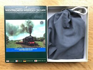 Wentworth Wooden Jigsaw Puzzle - North Yorks Moors Railway - 140 Pieces Complete