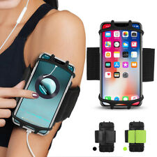 "Gym Running Jogging Sports Armband Bag Case Holder Cover For 4""-6.5"" Cell Phone"