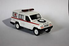 Buggy Gurgel Carajás Ambulance Brazil 1:43 Diecast Service Car