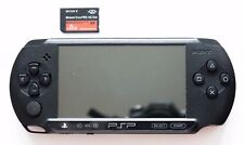 Sony PSP Street (E1000/E1004) E1008 Charcoal Black with 8Gb flash card
