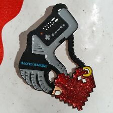 Prisoner Of Love Enamel Lapel Pin NES Power Glove Nintendo Retro Vintage