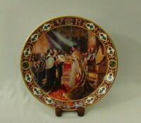 ROYAL DOULTON KINGS & QUEENS Of THE REALM QUEEN VICTORIA CABINET PLATE