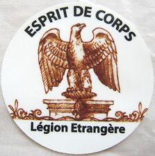 Autocollant vitre & pare-brise voiture Logo : ESPRIT DE CORPS LÉGION ÉTRANGÈRE