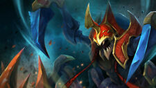 Game nyx assassin dota 2 Silk poster wallpaper 24 X 13 inches