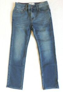 Abercrombie & Fitch Big Boys Straight Jeans - Medium Wash