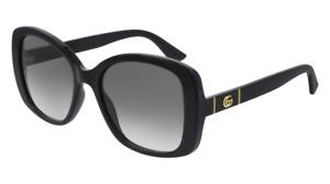 Gucci Occhiali da Sole GG0762S  001 Nero grigio Donna  Originali