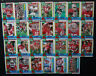 1990 Topps San Francisco 49ers Niners Team Set of 27 Football Cards