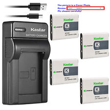 Kastar Battery Slim USB Charger for Sony NP-BK1 BC-CSK Sony Cyber-shot DSC-W370