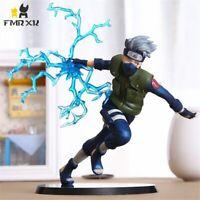 22cm Naruto Kakashi Sasuke PVC Action Figure Anime Puppets Toys Model Desk