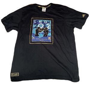 LONDON 2012 OLYMPICS BOXING Black Shirt Size 2XL Olympic Venue Collection XXL 2X