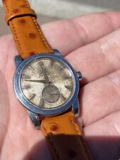 Tropical Dial 1954 OMEGA Seamaster 2766-3 Auto Bumper Cal.344 Gents Watch