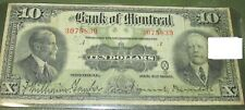 BANK OF MONTREAL 1923 VF SERIES OF 16 BANKERS