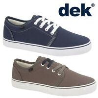 DEK Unisex Canvas Casual Summer Deck Shoes - Men's & Women's Skate Trainers