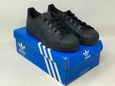 Adidas Superstar Black AF5666 Original Sneakers Men's size 19 NEW WITH BOX