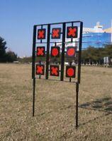 Noughts & Crosses Shooting Target 2 Player Shooting Game Auto Reset Rifle Airgun