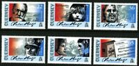 GUERNSEY 2002 VICTOR HUGO LES MISERABLES SET OF ALL 6 COMMEMORATIVE STAMPS MNH b