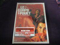 """COFFRET BLU-RAY + DVD NEUF """"LE CORPS ET LE FOUET"""" film d'horreur de Mario BAVA"""