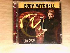 BOITIER 2 CD / EDDY MITCHELL LIVE 2000  / TRES BON ETAT