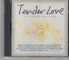 (FX304) Tender Love, 17 Romantic Love Songs  - 1992 CD