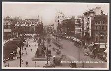 Postcard Manchester early Piccadilly and Market Street RP by Bamforth