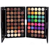 40 Color Cosmetic Matte Eyeshadow Cream Eye Shadow Makeup Palette Shimmer Set EL