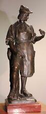 Bronze 12,5 kg Gladenbeck Schlosser Schmied Uhrmacher Amboss 56cm Bronce * 6222