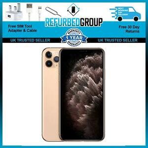 Apple iPhone 11 Pro Max 256GB Gold Unlocked Good Condition Grade B