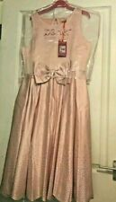 Ted Baker Girls SCATTER CRYSTAL Special Occasion Party Dress 10-11 Years RP£90