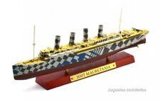 HMT MAURETANIA Transatlántico 1:1250 Ocean Liners barco Atlas Diecast