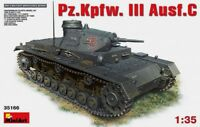 Miniart 1:35 Pz.Kpfw. III Ausf.C German Tank Model Kit