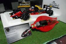 F1 FERRARI 641/2 # 1 GP Japon de 1990 with computer A. Prost au 1/18 EXOTO 97103